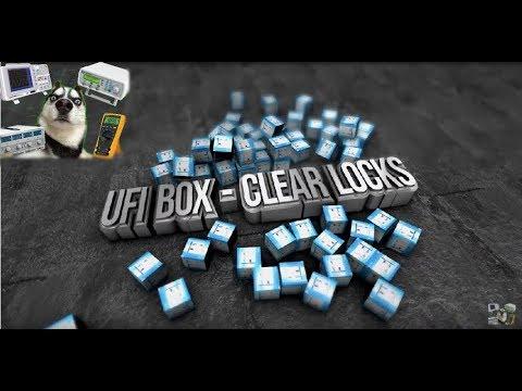 Ufi box - clear user locks  снятие пароля, обзор