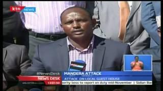 NewsDesk: 12 killed in fresh morning Al Shabaab attacks in Mandera County, 25/10/16