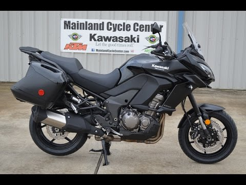 $12,799:  2015 Kawasaki Versys 1000 LT Overview and Review
