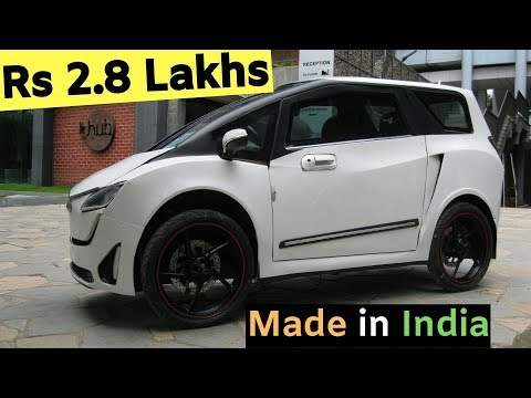 Micro Electric Car Made in India - DELIGHT EV Startup Hyderabad