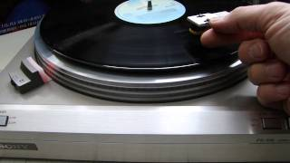 sony PS-515 full automatic phono classic test
