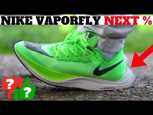 Nike ZoomX Vaporfly Next% Review Worth Buying $250 Runner?