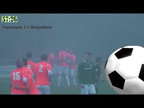 Voorwaarts V - Bergentheim (3-1)