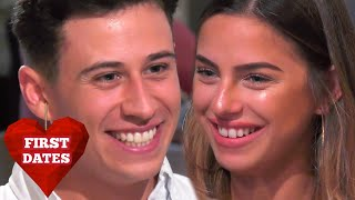 Will Charming Ash Impress With His Italian? | First Dates Hotel