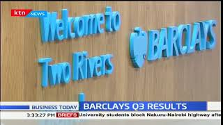 Barclays bank make a 5.1 billion shilling profit after tax in the third quarter