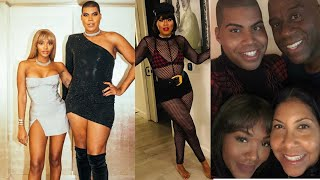 Magic Johnson's Son EJ Johnson Celebrates Sister Elisa Birthday In Matching Outfits