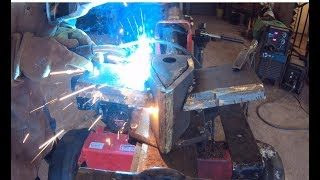 Building a 4 way splitter wedge