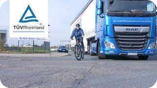 Video Film Toter Winkel | Abbiegeassistenten für Lkw retten Leben
