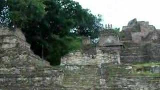 preview picture of video 'Arqueologic Zone Toniná, México'