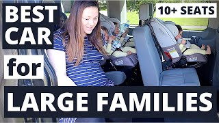 BEST Car for Family of 8! Triplets, 2 Toddlers & a Newborn!