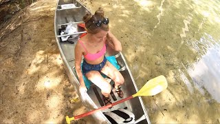 2 Idiots Go Canoeing For The First Time