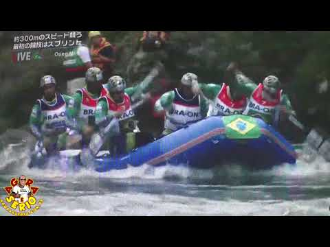 Bozo D' Água Brasil Rafting no Mundial do Japão 2017
