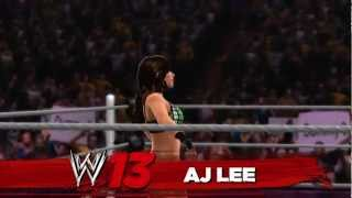 WWE '13 Fan Axxess Trailer: DLC Revealed - FEED US MORE!