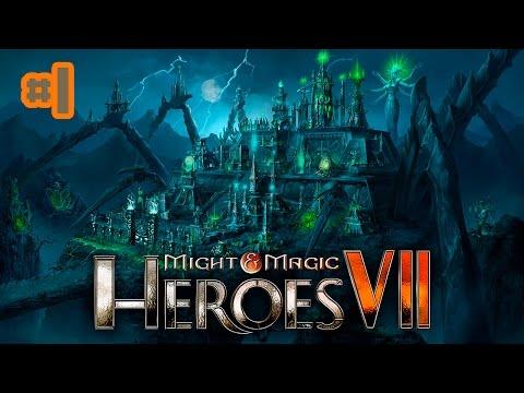 Прохождение Might and Magic Heroes 7 (сюжет)[1080p60fps] #1- Истребление нежити