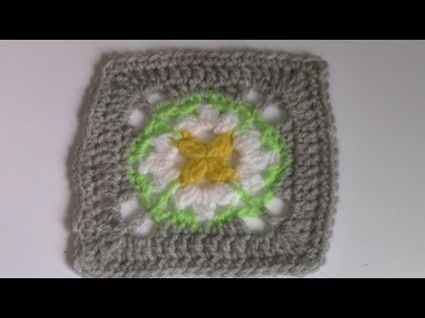 Haken Tutorial Madeliefje Granny Square