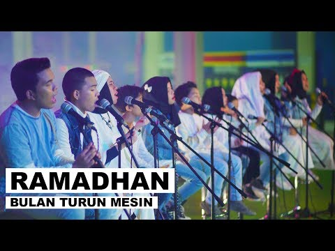 Gen halilintar   ramadhan bulan turun mesin  official music video  acoustic ver