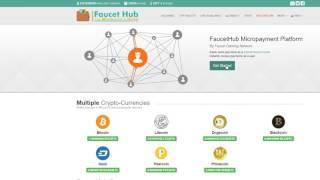 CoinPole   кран 100 сатоши каждые 5 минут с моментальной выплатой на FAUCET HUB