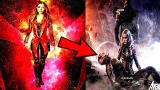 Avengers 4 Elizabeth Olsen JUST SPOILED AVENGERS 4? WTF MASSIVE SPOILERS!