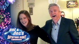 Ant & Dec's Live 'Get Out Of Me Ear!' Prank with Louis Walsh - Saturday Night Takeaway