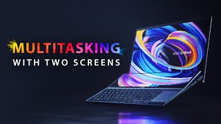 YouTube Video 47-OW0sLj8k for Product ASUS ZenBook Duo 14 (UX482) Dual-Screen Laptop (2021) by Company ASUS in Industry Computers