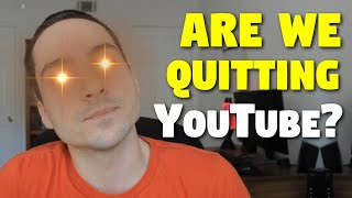 Are We Quitting YouTube? Filling You in on Us, If Link Could Talk, and Hi
