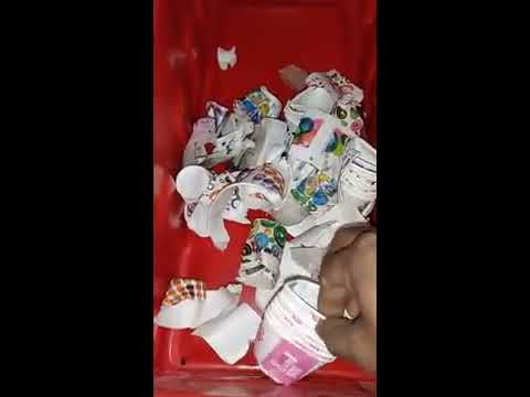 Paper Cup Wastage Crusher