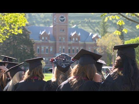 University of Montana Commencement 2018