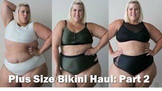 Plus Size Fashion Swimsuit Bikini Haul Movie