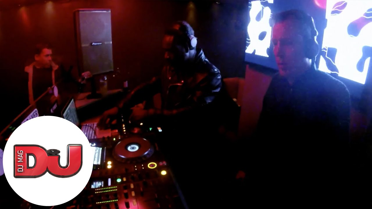 Selecta Bros (A Guy Called Gerald and JB) and Nils Hess - Live @ Work London 2016