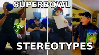 Superbowl Party Stereotypes