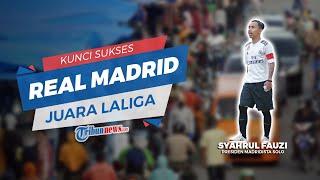 Kunci Sukses Real Madrid Dapat Juarai Kompetisi LaLiga 2019/2020 Ketika Barcelona Sempat Mendominasi