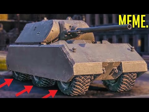 New Meta Scout - Wheeled Maus! ⛔ ► World of Tanks MEME Review #3