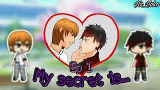 MY SECRET IS...||Ep 1||Gacha life gay love story||Omegaverse||