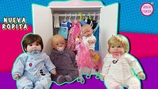 Ropa para Muñecas Bebé - Armario de juguete de Lindea, Ben, Finn y Molly