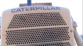 Caterpillar D8K start and operation part 1