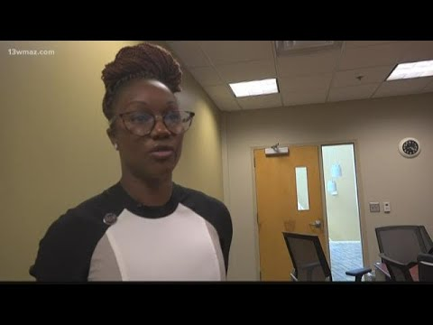 Olympic Gold Medalist Carmelita Jeter visits Fort Valley State