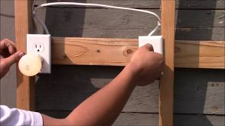 How to wire an outlet to a switch (half hot receptacle)