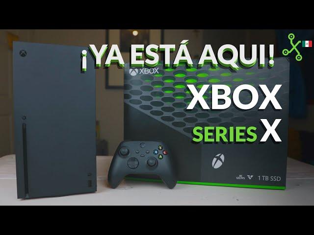 XBOX SERIES X, lo tenemos en México: UNBOXING Y PRIMERAS IMPRESIONES