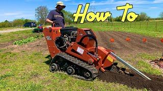 Operating a Trencher | DIY