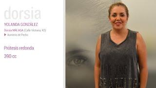 Aumento de pecho - Testimonio Yolanda González - Clínica Dorsia Alicante Aguilera
