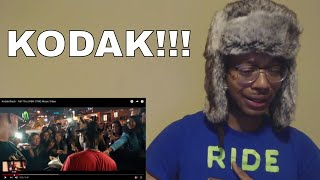 KODAK TURNED INTO CHRIS BROWN FOR THIS ONE! Kodak Black - Fall Thru (HBK OTW) Music Video (REACTION)