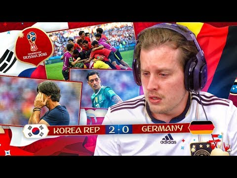 REACTING TO GERMANY GETTING KNOCKED OUT! 2018 RUSSIA WORLD CUP