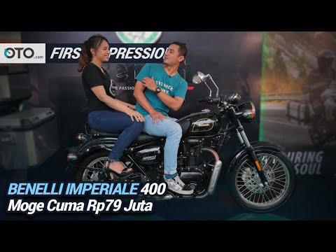 Benelli Imperiale 400 | First Impression Moge Cuma Rp 79 Juta | OTO.Com