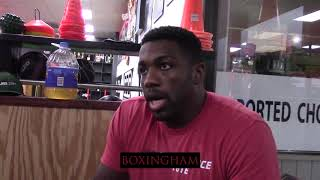 UFC Heavyweight Walt Harris talks helping Deontay Wilder prepare for fights and the importance of bo