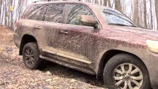 Off-Roading an $85,000 Toyota Land Cruiser