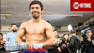 Pacquiao vs. Broner: Media Workout | Jan 19. on SHOWTIME PPV
