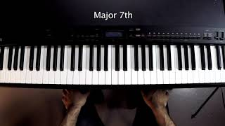 Basic Intervals: 7ths, Minor and Major -- Music Theory 101
