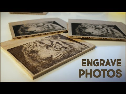 K40 Whisperer: Engraving Pictures - Scorch Works - Video - Free
