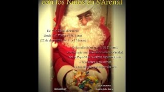 preview picture of video 'La Casa de Papá Noel en S'Arenal 2013'