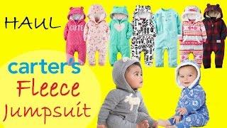 Флисовые комбиниезончики | Обзор одежды Carters